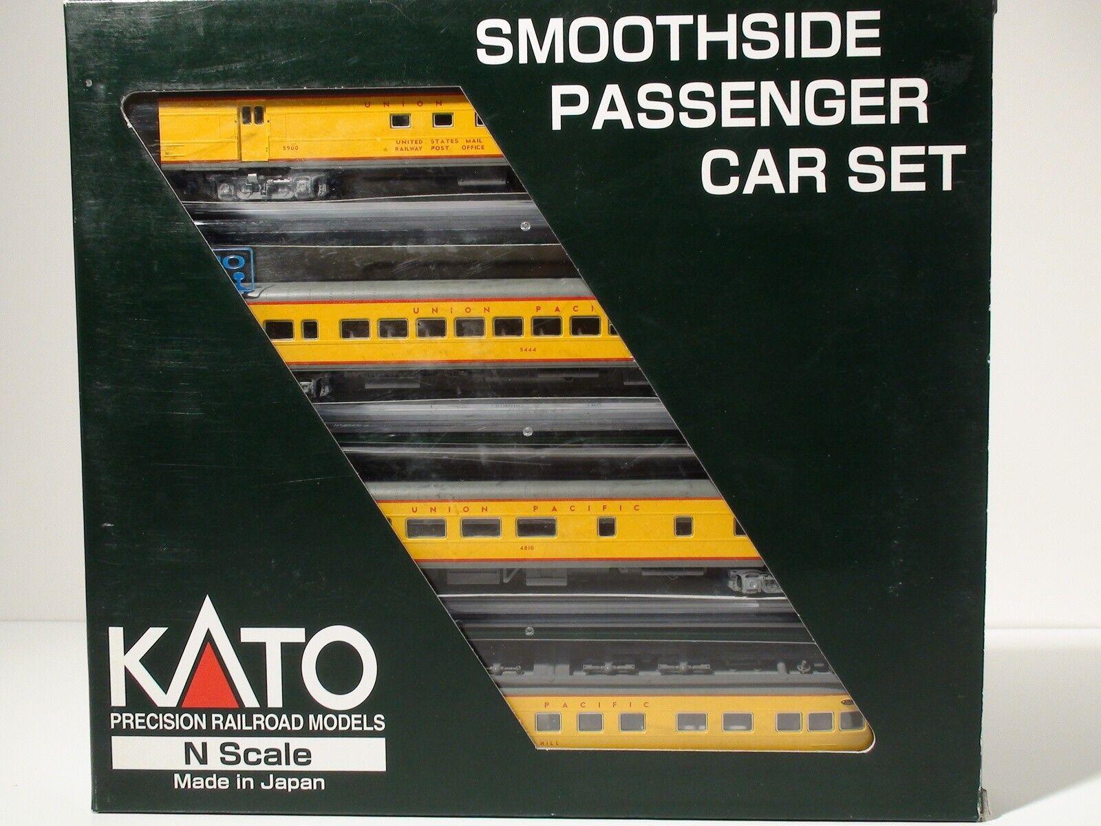 N-SCALE KATO  106-1002  SET A  UNION PACIFIC-2 PASSENGER SET 4 CARS NEW
