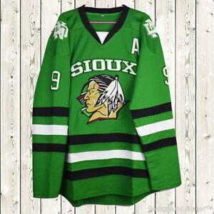 Image is loading Jonathan-Toews-Hockey-Stitched-Jersey-North-Dakota-Fighting - 1294ef9b4