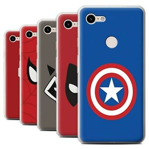 Gel-TPU-Case-for-Google-Pixel-3-XL-Super-Hero-Comic-Art