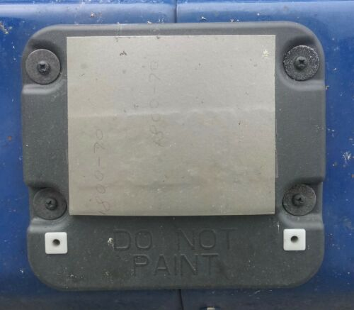 Adhesive Patch for truck accident mitigation system