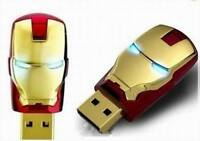 Iron Man Style 32GB 32 Gig 32Gig 32 gb USB Flash Pen Drive MEMORY STICK quality