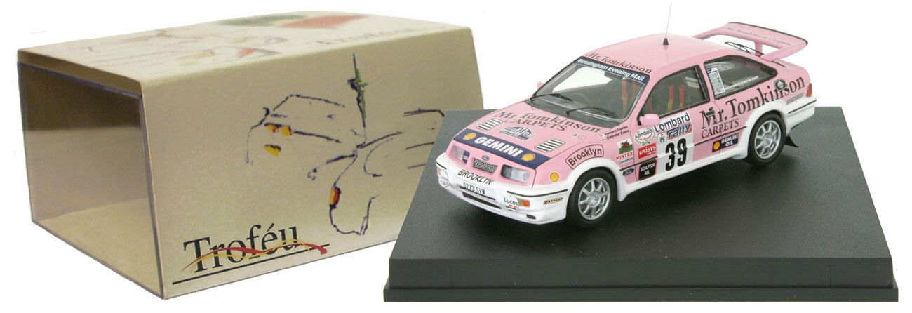Trofeu 124 Ford Sierra Cosworth Rally Rac 1989-Gwyndaf Evans 1 43 Escala
