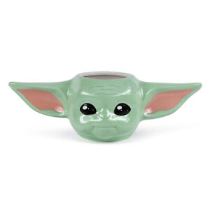 Boxed Mug Ceramic Gift Sculpted Shaped - STAR WARS The Mandalorian THE CHILD