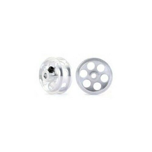2//pk NSR 5011 Aluminum Front Wheels Ø17x8mm For NASCAR//IMCA for 1:32 slot cars