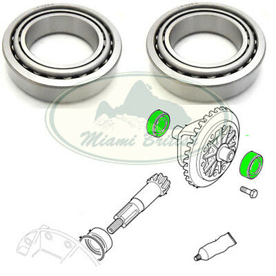 LAND ROVER DIFFERENTIAL BEARING SET x2 DEF RRC DISCOVERY I RANGE P38 RTC3095 AM