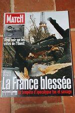 paris match 2641 du 6 janvier 2000 tempete anne parillaud giordano lelouch