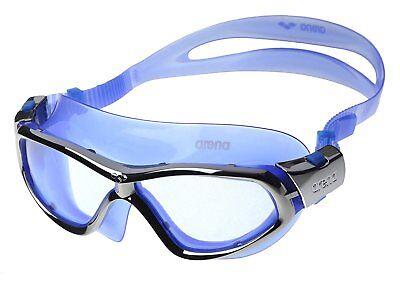 Competente Occhialini Arena Orbit Blue Silver Nuoto Swimming Goggles Buona Conservazione Del Calore