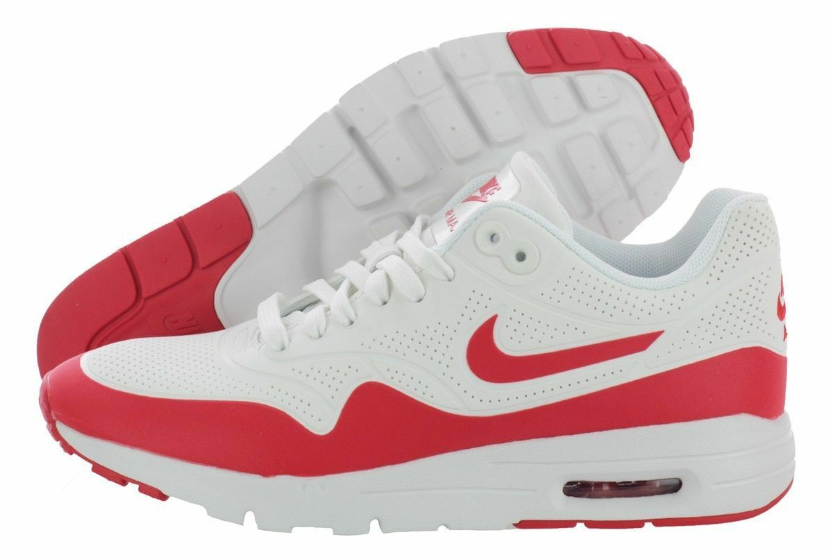 NIKE AIR MAX 1 ULTRA MOIRE 704995 102 SUMMIT SUMMIT SUMMIT WHITE WHITE UNIV RED WOM 5.5 ANB 40afcf