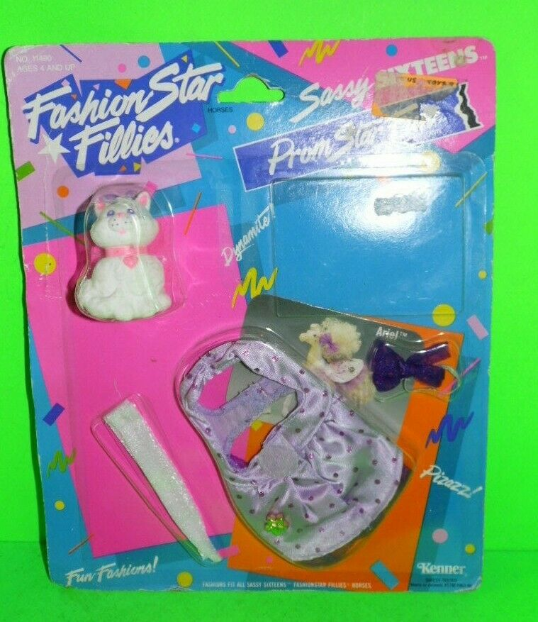 FASHION STAR FILLIES M.O.C.Outfit ARIEL Prom Star COSTUME Sassy Sixteen Horse