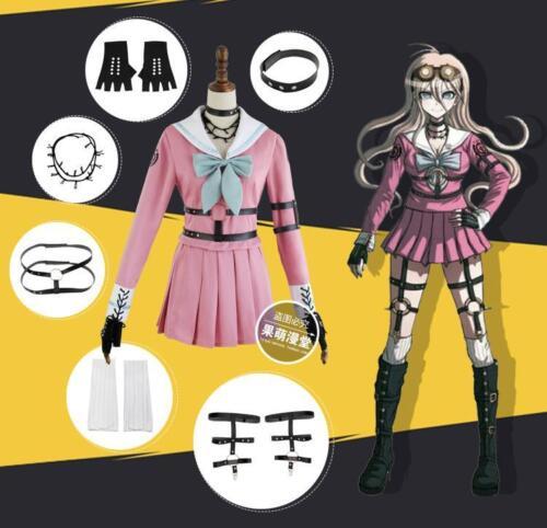 Killing Harmony Iruma Miu Cosplay- New-Danganronpa V3 Free shipping