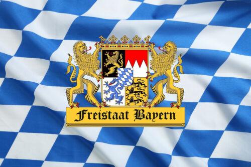 Fahne Freistaat Bayern XL 250 cm x 150 cm mit 2 Ösen NEU/&OVP Hissfahne
