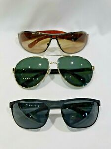 Lot-of-3-Men-039-s-Prada-Sunglasses