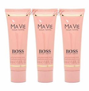 super cheap discount official supplier Details about Hugo Boss Ma Vie Pour Femme Perfumed Body Lotion 150ml Women  Mavie New