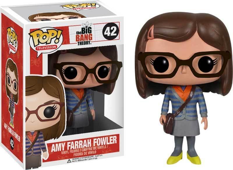 The Big Bang Theory - Amy Farrah Fowler Pop  Vinyl Figure NEW Funko