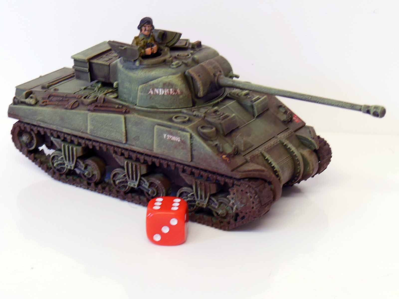 28mm Chain Of Command British Sherman Firefly Tank Painted R3 Action