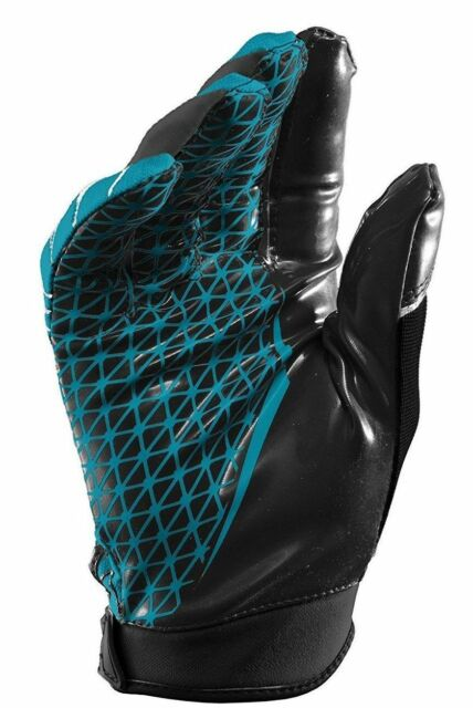 Under Armour Warp Speed NFL Football Gloves Sz L Teal Sticky Breathable  1230450 031859e3f