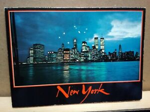NEW-YORK-CITY-folio-of-7-detachable-views-MANHATTAN-POSTCARD-CO-printed-in-Italy