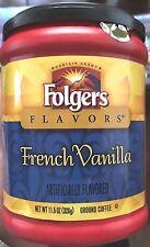 FOLGERS FRENCH VANILLA GROUND COFFEE 11.5 OZ