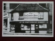 POSTCARD LONDON THE OLD CURIOSITY SHOP 1926