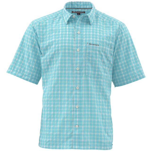 Simms Morada Long Sleeve Shirt ~ Mint Plaid ~ Size XL CLOSEOUT