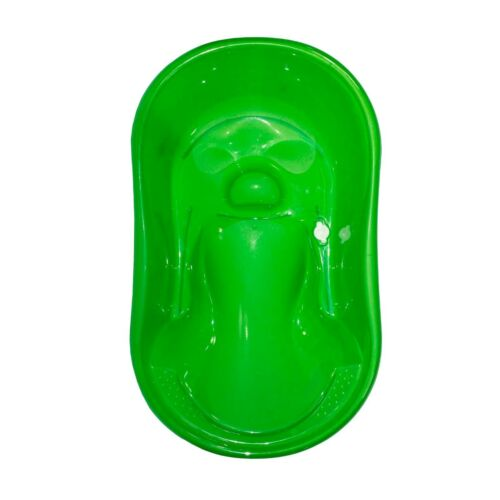 Baby Bath Time Green Basic Splash /& Play Bath Tub With Seat Support