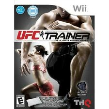 UFC Personal Trainer: The Ultimate Fitness System - Nintendo  Wii Game