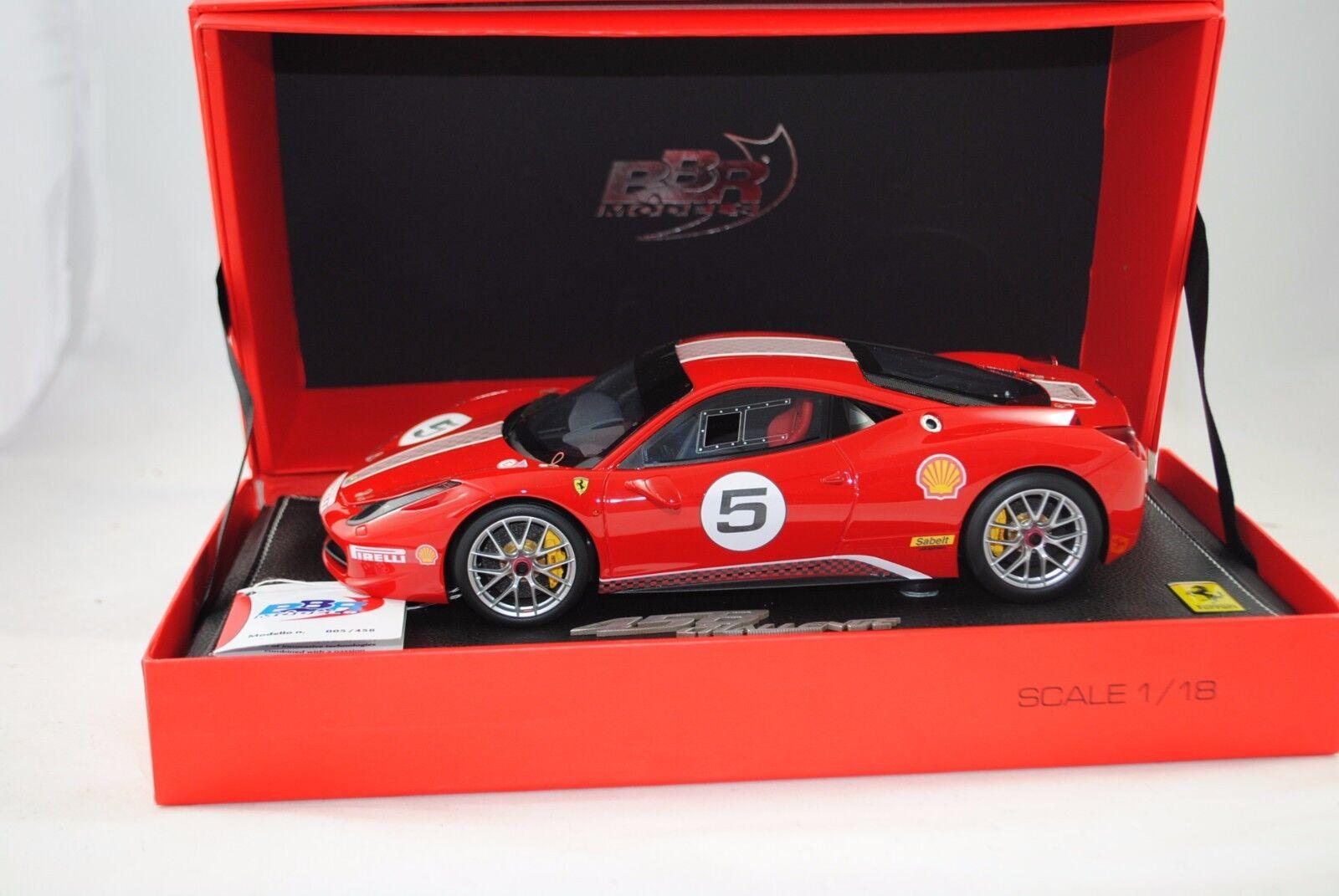 1 18 Bbr  P1824 - Ferrari 458 Challenge 2010 Limitato 005 458 Lancio Versione §