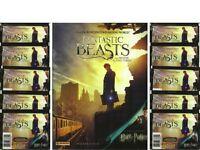 2016 Panini Fantastic Beasts / Harry Potter 8 Sticker Album + 10 Sticker Packs