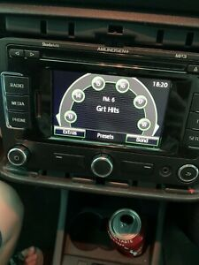 SKODA Fabia 2008 - 2014 Radio CD Sat Nav Player 3T0035192B Vw Golf Rns 315