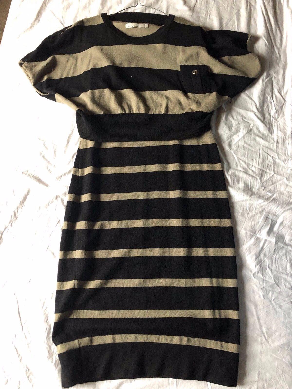 Kleid Strickkleid Tunika streifen Karen Millen Gr. 4