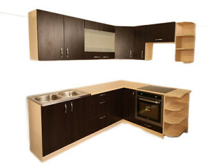 Cheap kitchen cabinets units ebay for Cheap kitchen carcass