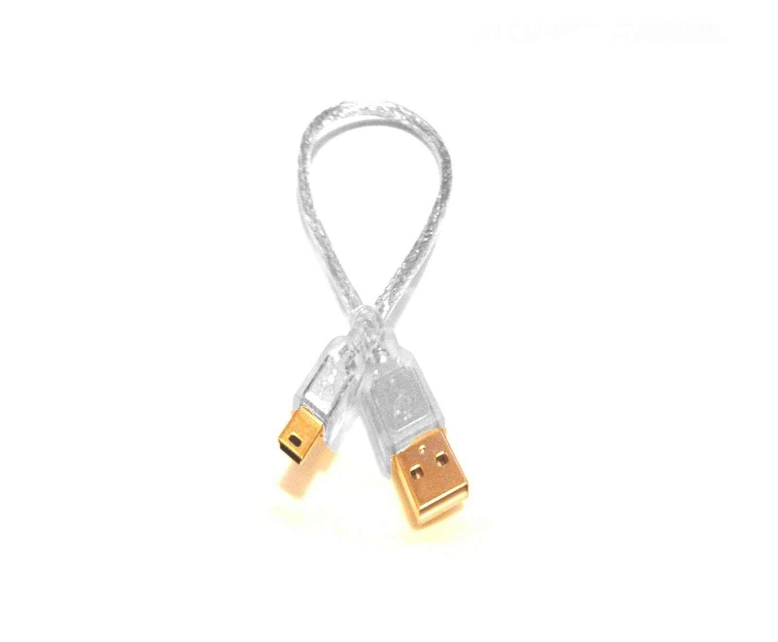 SB GOLD PLATED PREMIUM USB CABLE LEAD CHARGER FOR RIO CARBON MP3 PLAYER