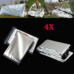 Emergency-Foil-Thermal-Blanket-Survival-Baby-Sensory-First-Aid-Camping-WR