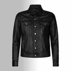Massanfertigung-Herren-Lederhemd-HUGO-Leder-Jacke-massgeschneidert-Lammnappa