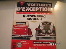 **a Voitures d'exception n°18 Dusenberg model J / Citroën SM / XM et Xantia