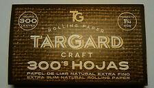 Papel de fumar natural TarGard CRAFT 300 Hojas - Natural Smoking Paper