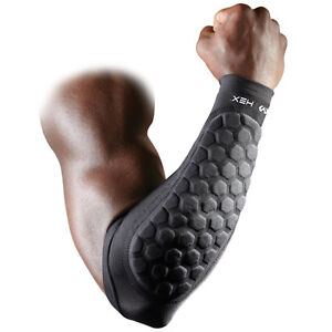 a0043f191f Details about MCDAVID 651 R Hex Forearm Sleeves Pair Protection Compression  Football Cool Dry