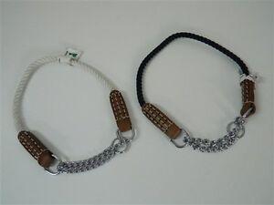 Collare-cani-semi-strangolo-strozzo-MADE-IN-ITALY-40-cm-7-mm-Vari-colori-M238