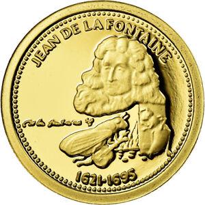 716150-France-Medal-Jean-de-la-Fontaine-Arts-amp-Culture-MS-65-70-Gold