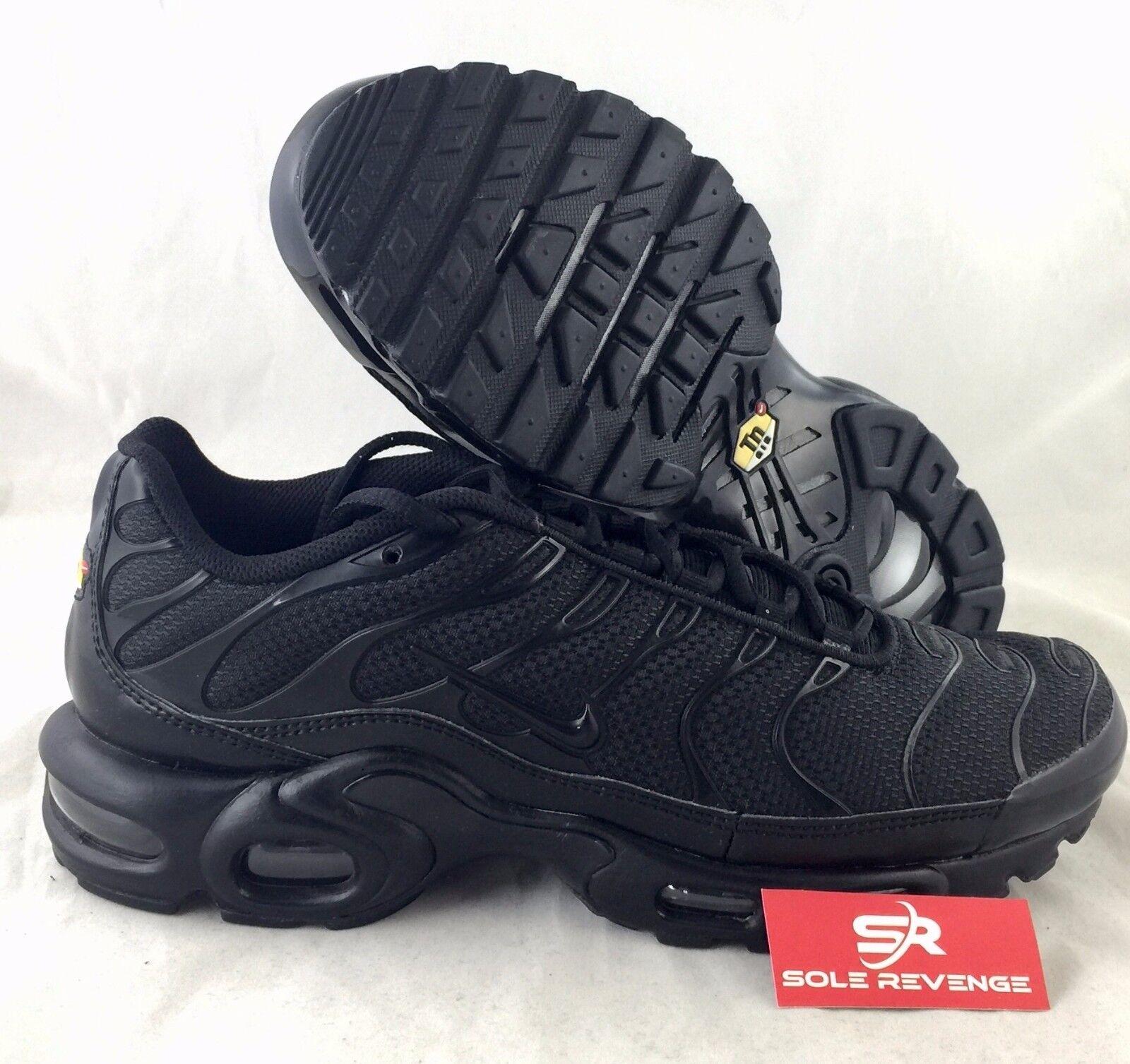 8 nuevos Nike Air zapatos Max Plus TN triple zapatos Air negros 604133-050 95 Aire sintonizados el último descuento zapatos para hombres y mujeres 4d87f0
