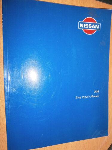 body repair manual Nissan A32 MAXIMA 1994..