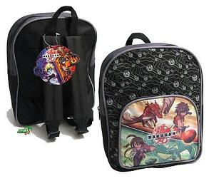 Bakugan Battle Brawlers Rucksack/ Backpack, Kinderrucksack / Tasche Neu