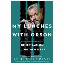 My Lunches with Orson: Conversations between Henry Jaglom & Orson Welles HC Book