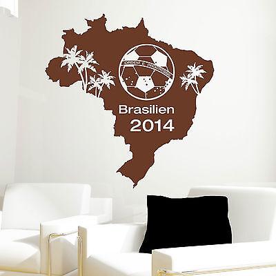 Wandtattoo Loft  Fußball Spieler Fußballspieler WM Brasilien 10384 Meisterschaft