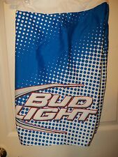 5fb934bdd0 Bud Light Lite Beer Blue Dot White Board Swim Trunks Shorts Mens Size 30 NWT