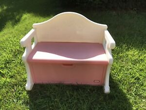 Fabulous Details About Rare Child Size Little Tikes Toy Chest Box Victorian Bench Pink White Toybox Creativecarmelina Interior Chair Design Creativecarmelinacom