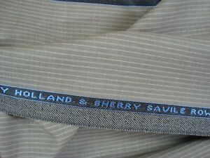 4-33-yds-HOLLAND-SHERRY-WOOL-FABRIC-Cool-Breeze-Super-Fine-7-oz-Suiting-156-034-BTP