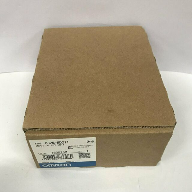 New in box Omron CJ2M-MD211 PLC I/O Module CJ2MMD211 One year warranty