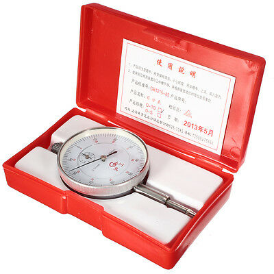 Accurancy Dial Test Indicator DTI Guage Clock Gauge Range 0mm to 10mm with Case