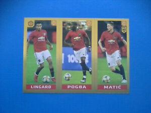 Figurine-Panini-Fifa-365-2019-20-2020-n-70-Lingard-Pogba-Matic-Manchester-U